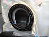 "Speaker adapter bracket from  <a href=""http://www.car-speaker-adapters.com/items.php?id=SAK028""> Car-Speaker-Adapters.com</a>   installed on door"