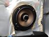 "Aftermarket speaker and speaker adapter bracket from  <a href=""http://www.car-speaker-adapters.com/items.php?id=SAK028""> Car-Speaker-Adapters.com</a>   installed on door"