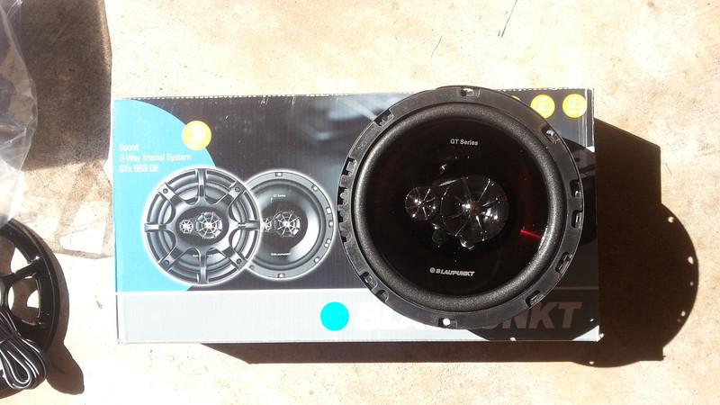 Aftermarket Blaupunkt speakers