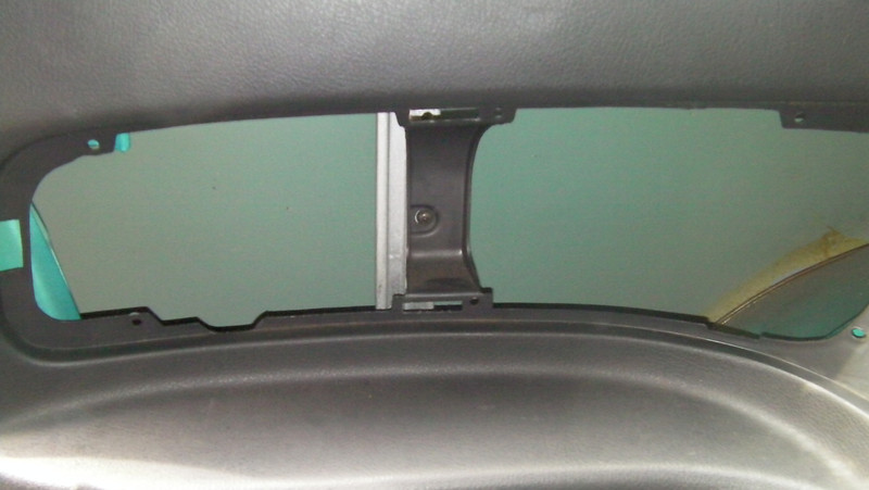 Vehicle with no speakers.