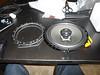 "Comparison: <br> Left: Speaker adapter bracket  from  <a href=""http://www.car-speaker-adapters.com/items.php?id=SAK033""> Car-Speaker-Adapters.com</a>  <br> Right: Aftermarket speaker"