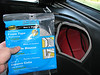 """Use 3/8"""" adhesive backed foam tape found at any hardware store to create a sound deadening air tight seal between the mounting panels and the car interior panels."""