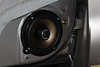 """Aftermarket speaker and speaker adapter from  from  <a href=""""http://www.car-speaker-adapters.com/items.php?id=SAK028""""> Car-Speaker-Adapters.com</a>   installed on door"""
