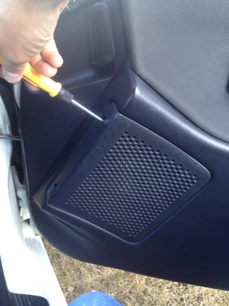 Removing grill