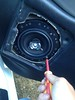 "Installing aftermarket speaker in to speaker adapter from <a href=""http://car-speaker-adapters.com/items.php?id=SAK033""> Car-Speaker-Adapters.com</a>"