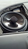 """Top view of  aftermarket speaker and speaker adapter   from  <a href=""""http://www.car-speaker-adapters.com/items.php?id=SAK094""""> Car-Speaker-Adapters.com</a>   installed.  Trim panel reinstalled"""
