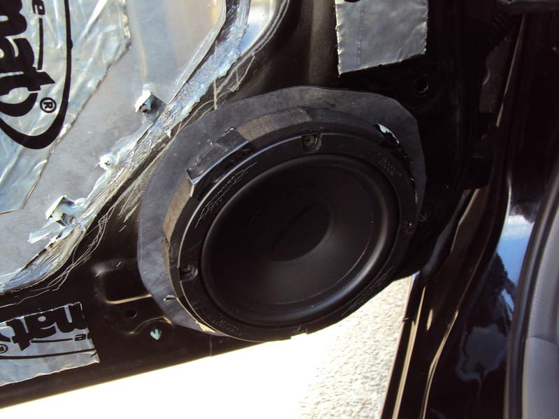 "Speaker to be reinstalled, using speaker adapters     from  <a href=""http://www.car-speaker-adapters.com/items.php?id=SAK094""> Car-Speaker-Adapters.com</a>"