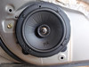 Overhanging foam from speaker baffle trimmed