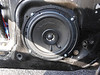 "Aftermarket speaker and  speaker adapter ring from  <a href=""http://www.car-speaker-adapters.com/items.php?id=SAK033""> Car-Speaker-Adapters.com</a>   fitted to door"