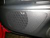 Speaker grill after speaker installation