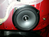 """Aftermarket speaker and speaker ring     from  <a href=""""http://www.car-speaker-adapters.com/items.php?id=SAK033""""> Car-Speaker-Adapters.com</a>   mounted to door"""