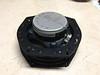 """Aftermarket speaker mounted to speaker adapter bracket  speaker adapter brackets  from  <a href=""""http://www.car-speaker-adapters.com/items.php?id=SAK033""""> Car-Speaker-Adapters.com</a>  (rear view)"""