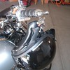 Item 1002-C on a Honda VTX1800 with Kuryakyn ISO Grips.