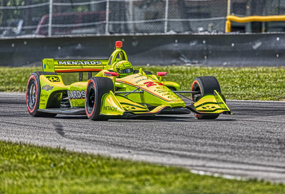 2019 Honda Indy 200 at Mid-Ohio Sportscar Course - Simon Pagenaud in the Chevrolet powered #22 - Team Penske