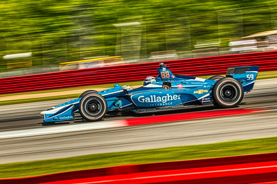 2019 Honda Indy 200 at Mid-Ohio Sportscar Course - Max Chilton in the Chevrolet powered #59 - Carlin