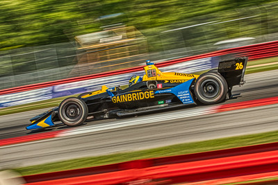 2019 Honda Indy 200 at Mid-Ohio Sportscar Course - Zack Veach in the Honda powered #26 - Andretti Autosport