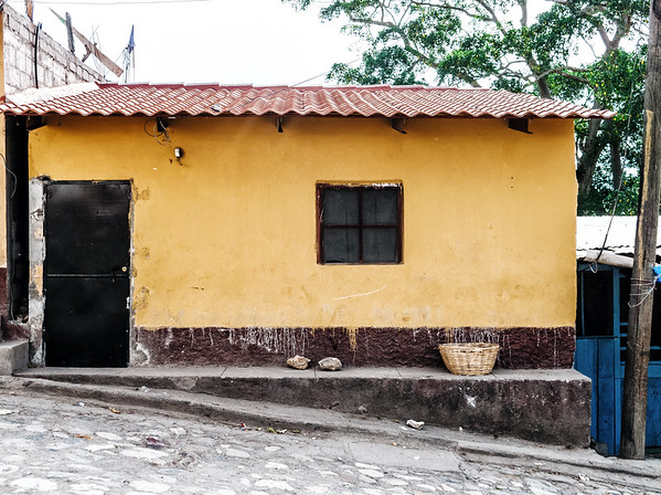 House in Copan Ruinas, Honduras.