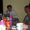 Dinner scene: Raji, Ryan, Dan, Ferdi
