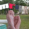 Ferdi's feet