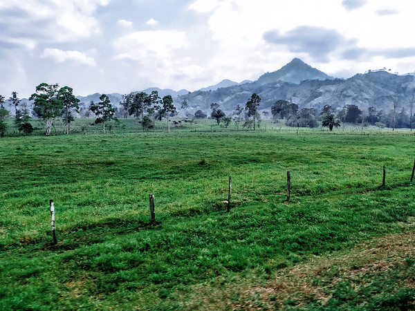 Landscape in Honduras. / Paysage au Honduras.