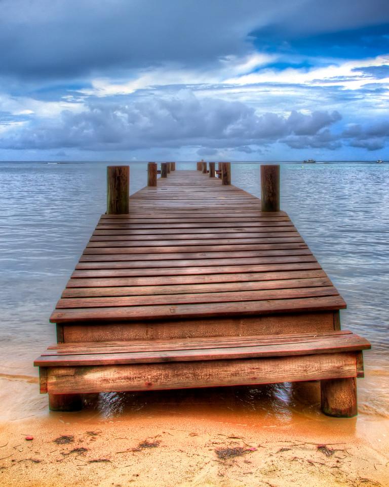 A Long Walk On A Long Pier