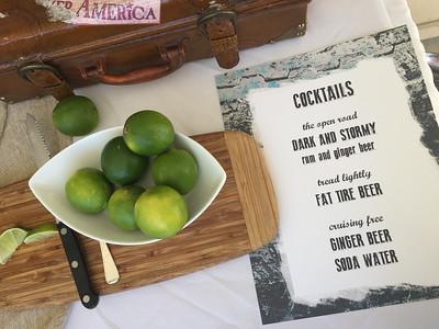 The most amazing cocktails I've ever tasted! Delish!