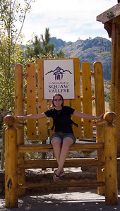 Claire in a Big Chair