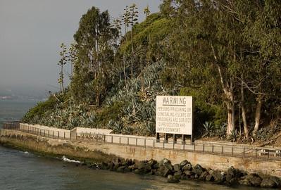 Alcatraz Warning