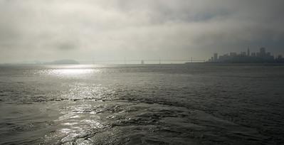 SF and Bay Bridge