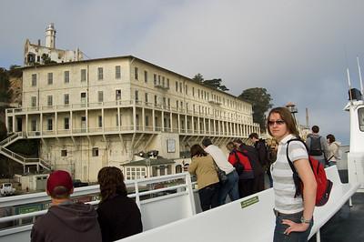 Claire At Alcatraz