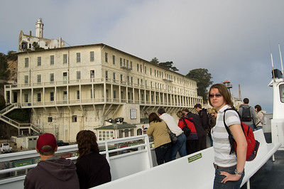 Claire At Alcatraz