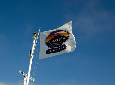 Alcatraz Cruises Flag