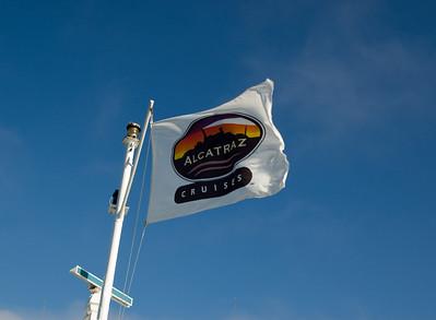 Alcatraz Cruises Flag