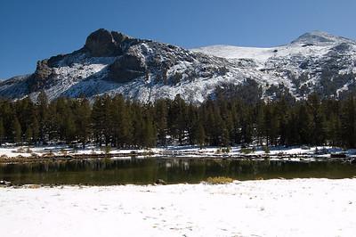 A Mountain Lake  A pretty little lake just inside Yosemite on Tioga Pass road
