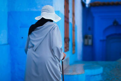 """Chefchaouen - Some guy yelled at me for taking this photo of his """"mother"""""""