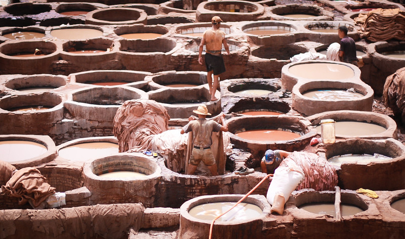 Tanneries, Fes