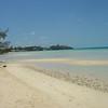 Beach at Ten Bay (Caribbean side), looking south.