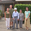 Tomoko, Adam, the grandparents and Yuko (Tomoko's sister).