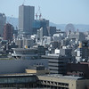 View of Osaka from the castle