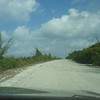 The is what the (only) highway on Eleuthera looked like.