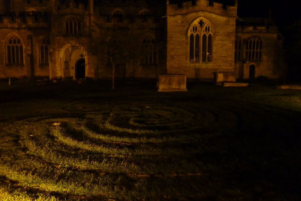 Labyrinth in the Churchgarden of St. Johns