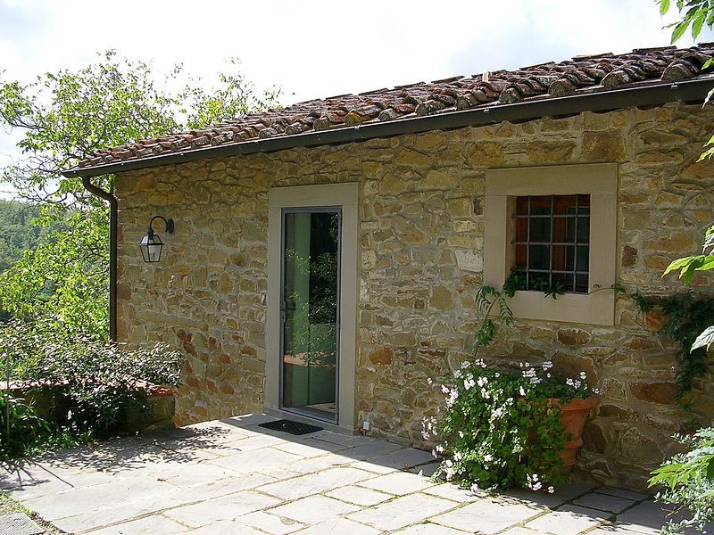 The door to Francesca.