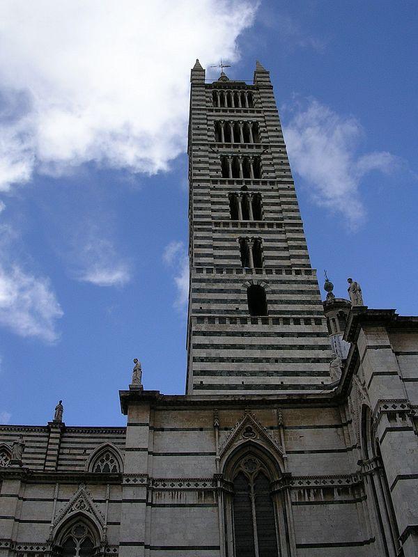 Siena The Campanile Duomo
