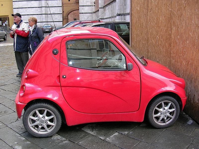Yes this is an actual car.