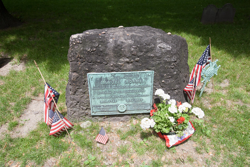 Sam Adams' grave