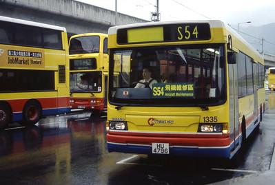 CTB 1335 Hong Kong Airport Sep 98