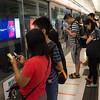 Hong Kong. Phone Obsession.