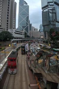Tram at Queensway