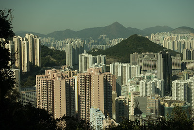 View to Chai Wan from Dragon's Back