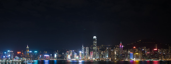 Hong Kong from the Interconti